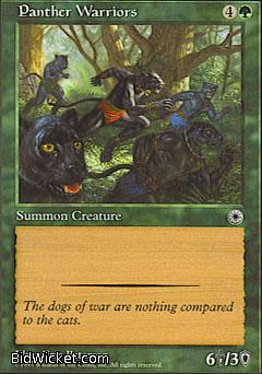 Panther Warriors, Portal, Magic the Gathering