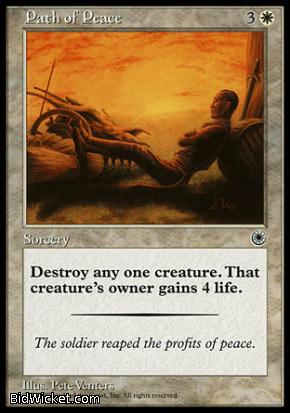 Path of Peace, Portal, Magic the Gathering