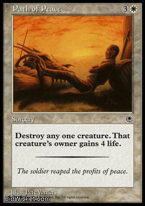 Path of Peace, Portal, Magic the Gathering