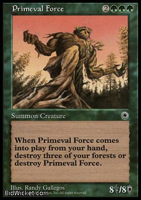 Primeval Force, Portal, Magic the Gathering