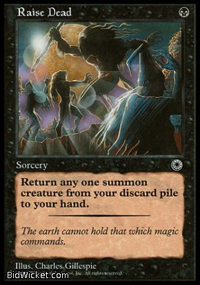 Raise Dead, Portal, Magic the Gathering
