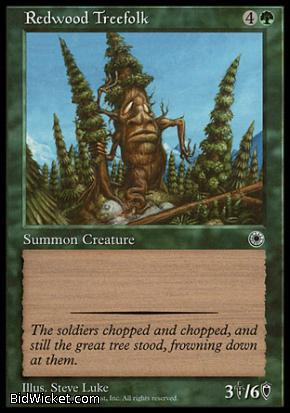 Redwood Treefolk, Portal, Magic the Gathering