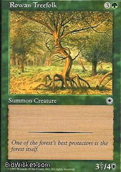 Rowan Treefolk, Portal, Magic the Gathering