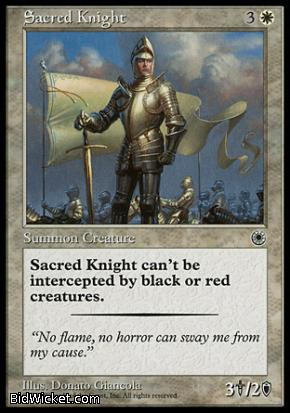 Sacred Knight, Portal, Magic the Gathering