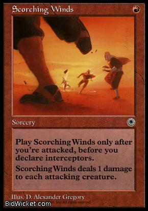 Scorching Winds, Portal, Magic the Gathering