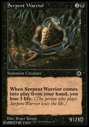 Serpent Warrior, Portal, Magic the Gathering