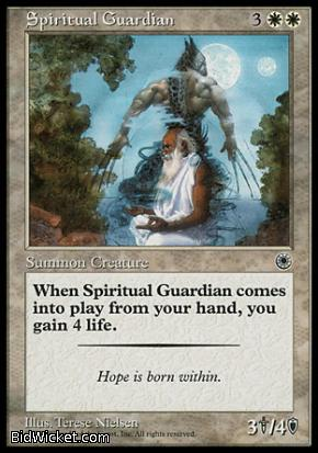 Spiritual Guardian, Portal, Magic the Gathering