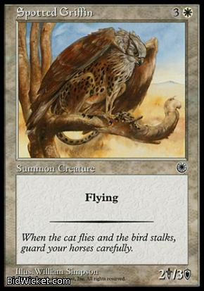 Spotted Griffin, Portal, Magic the Gathering