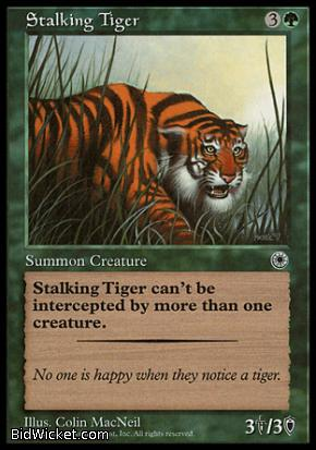 Stalking Tiger, Portal, Magic the Gathering