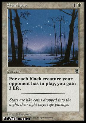Starlight, Portal, Magic the Gathering