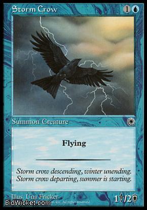 Storm Crow, Portal, Magic the Gathering