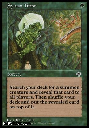 Sylvan Tutor, Portal, Magic the Gathering