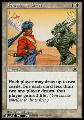 Temporary Truce, Portal, Magic the Gathering