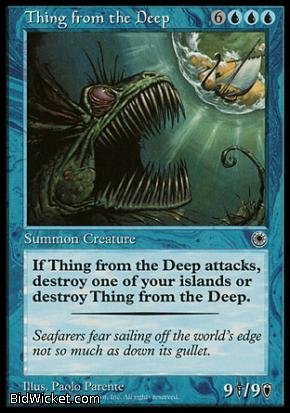 Thing from the Deep, Portal, Magic the Gathering