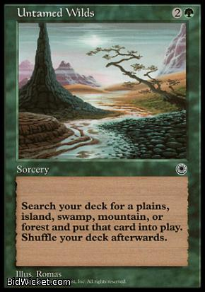 Untamed Wilds, Portal, Magic the Gathering