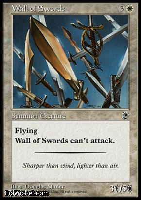 Wall of Swords, Portal, Magic the Gathering