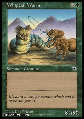 Whiptail Wurm, Portal, Magic the Gathering