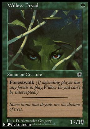Willow Dryad, Portal, Magic the Gathering