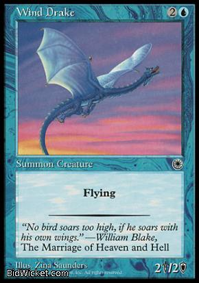 Wind Drake, Portal, Magic the Gathering