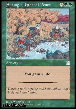 Spring of Eternal Peace, Portal Three Kingdoms, Magic the Gathering