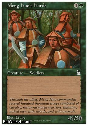 Meng Huo's Horde, Portal Three Kingdoms, Magic the Gathering