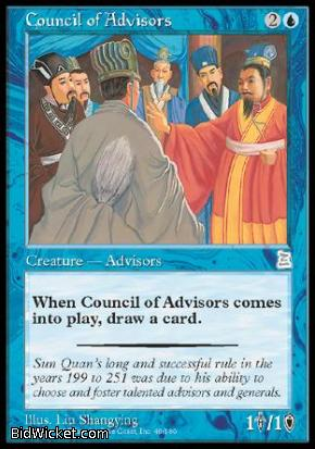 Council of Advisors, Portal Three Kingdoms, Magic the Gathering