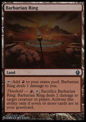 Barbarian Ring, Premium Deck Series: Fire and Lightning, Magic the Gathering