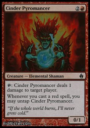 Cinder Pyromancer, Premium Deck Series: Fire and Lightning, Magic the Gathering