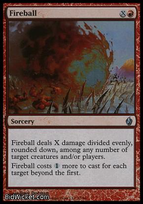 Fireball, Premium Deck Series: Fire and Lightning, Magic the Gathering