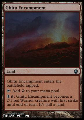 Ghitu Encampment, Premium Deck Series: Fire and Lightning, Magic the Gathering