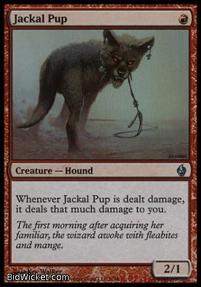 Jackal Pup, Premium Deck Series: Fire and Lightning, Magic the Gathering
