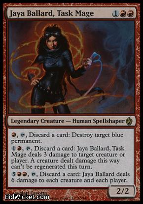 Jaya Ballard, Task Mage, Premium Deck Series: Fire and Lightning, Magic the Gathering