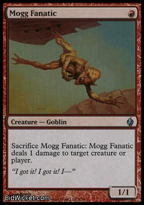 Mogg Fanatic, Premium Deck Series: Fire and Lightning, Magic the Gathering