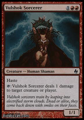 Vulshok Sorcerer, Premium Deck Series: Fire and Lightning, Magic the Gathering