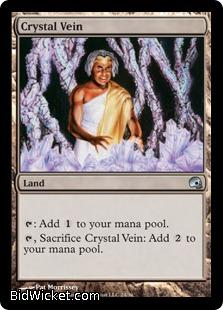 Crystal Vein, Premium Deck Series: Graveborn, Magic the Gathering