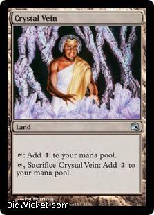 Crystal Vein, Premium Deck Series: Graveborn, Magic the Gathering