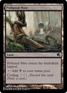 Polluted Mire, Premium Deck Series: Graveborn, Magic the Gathering