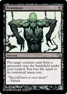 Reanimate, Premium Deck Series: Graveborn, Magic the Gathering