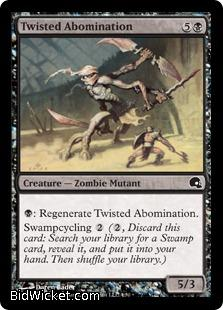 Twisted Abomination, Premium Deck Series: Graveborn, Magic the Gathering
