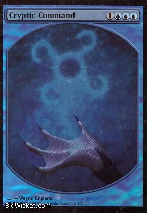 Cryptic Command (Textless),Promotional Cards, Magic the Gathering