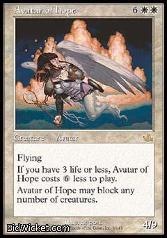Avatar of Hope, Prophecy, Magic the Gathering
