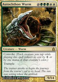 Autochthon Wurm, Ravnica, Magic the Gathering