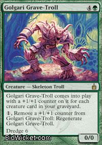 Golgari Grave-Troll, Ravnica, Magic the Gathering