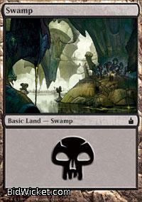 Swamp (297), Ravnica, Magic the Gathering