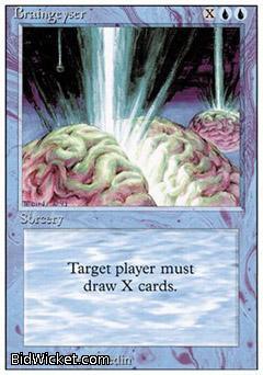 Braingeyser,Revised, Magic the Gathering