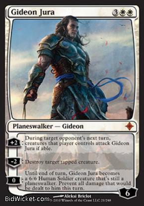 Gideon Jura, Rise of the Eldrazi, Magic the Gathering
