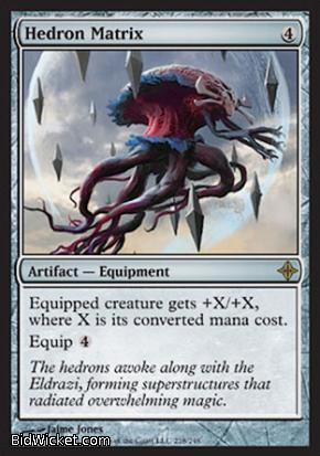 Hedron Matrix, Rise of the Eldrazi, Magic the Gathering
