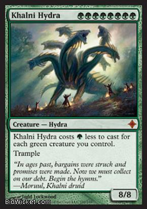 Khalni Hydra, Rise of the Eldrazi, Magic the Gathering