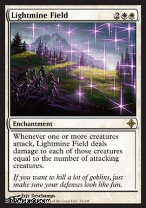 Lightmine Field, Rise of the Eldrazi, Magic the Gathering