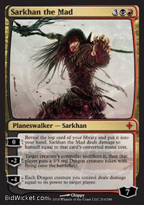 Sarkhan the Mad, Rise of the Eldrazi, Magic the Gathering